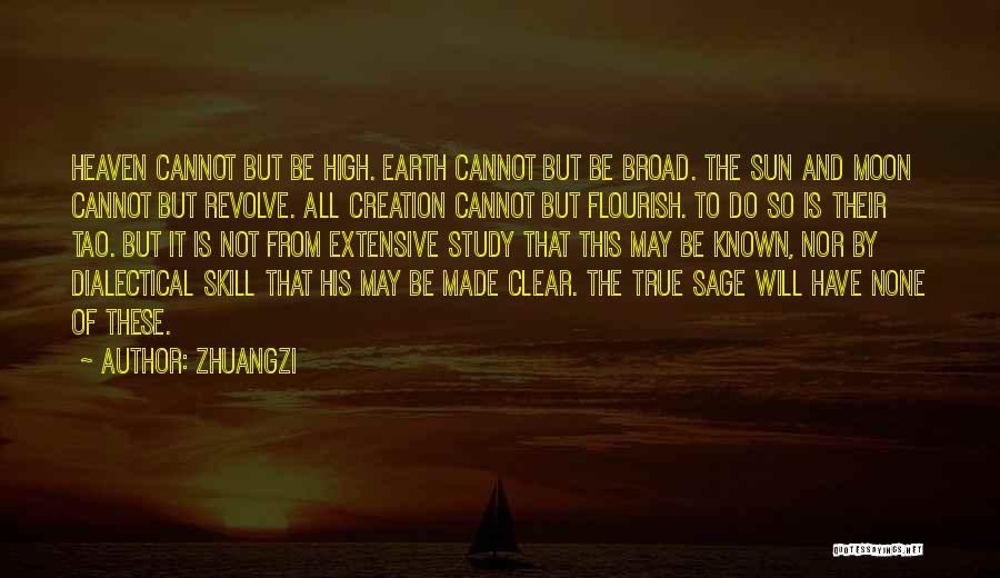 Sun Moon And Earth Quotes By Zhuangzi
