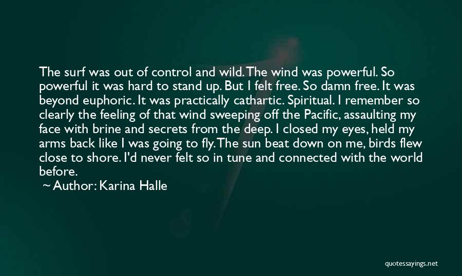 Sun On My Face Quotes By Karina Halle