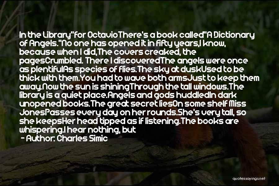 Sun Shining Day Quotes By Charles Simic