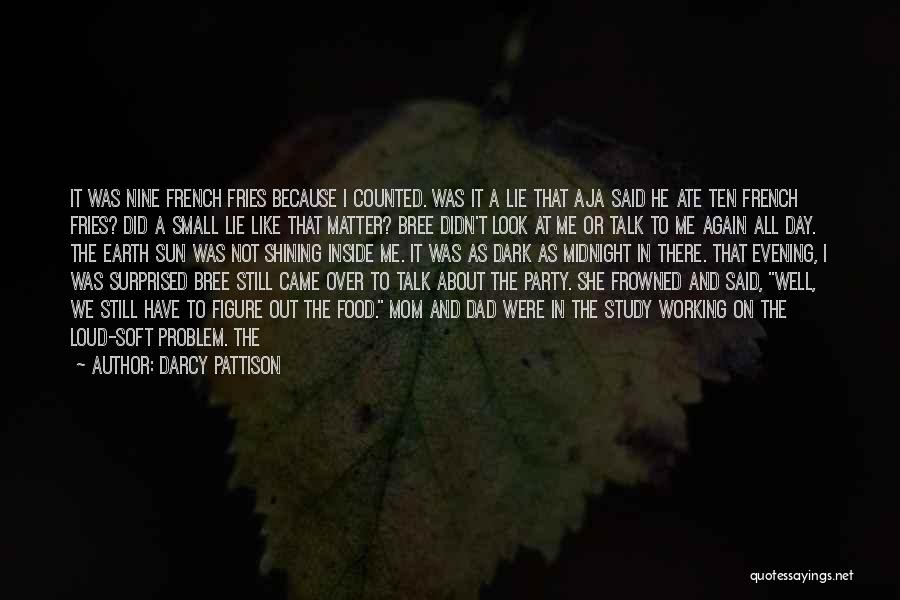 Sun Shining Day Quotes By Darcy Pattison
