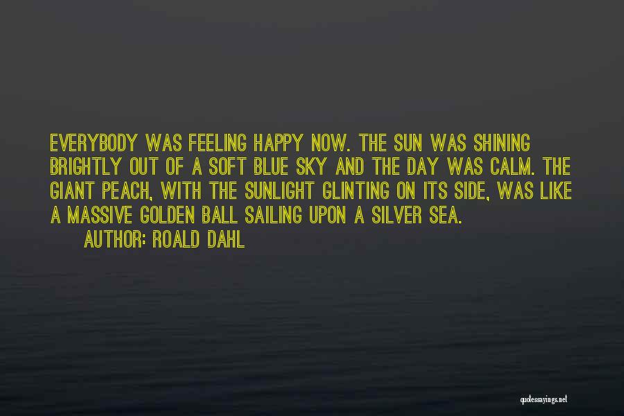 Sun Shining Day Quotes By Roald Dahl