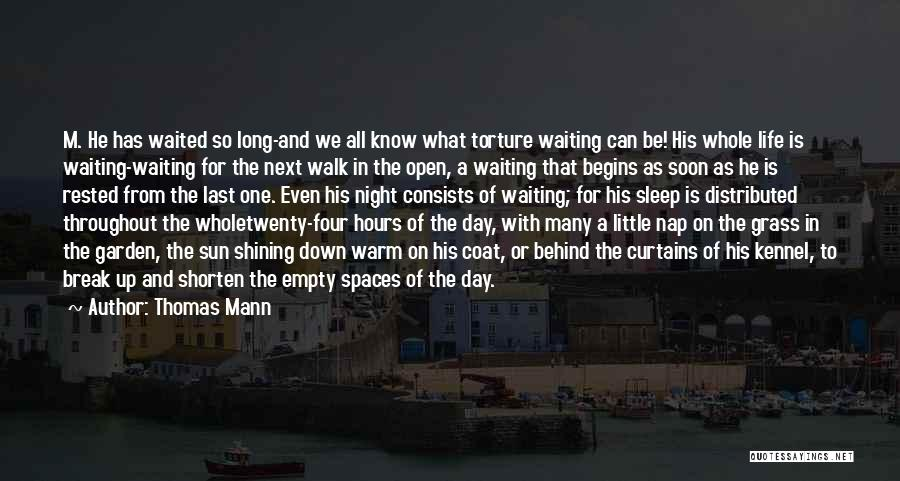 Sun Shining Day Quotes By Thomas Mann