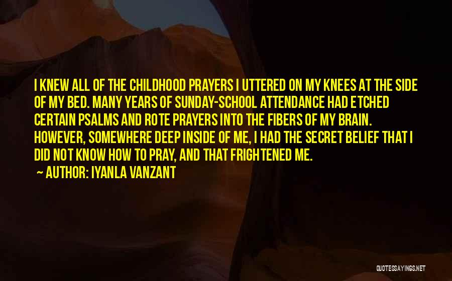 Sunday School Quotes By Iyanla Vanzant