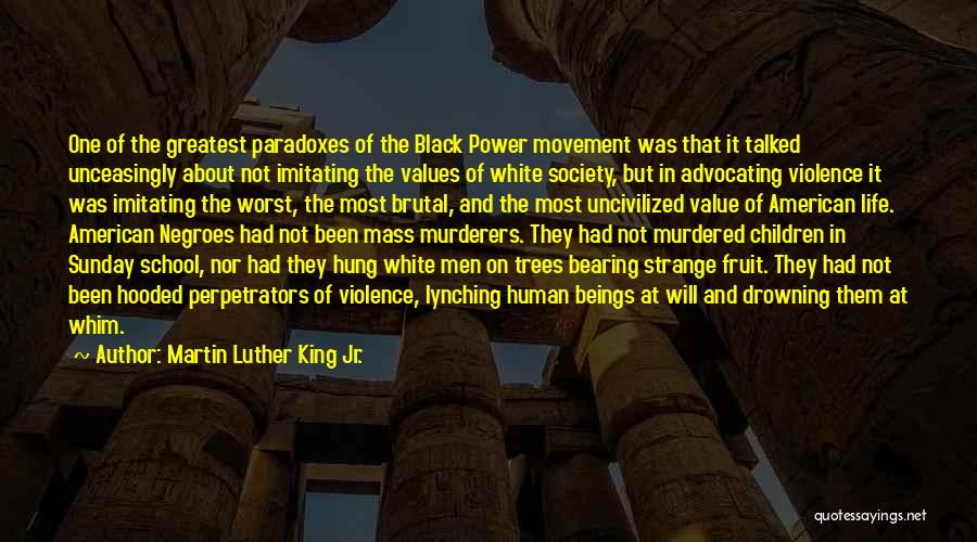 Sunday School Quotes By Martin Luther King Jr.