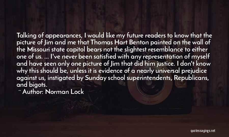 Sunday School Quotes By Norman Lock