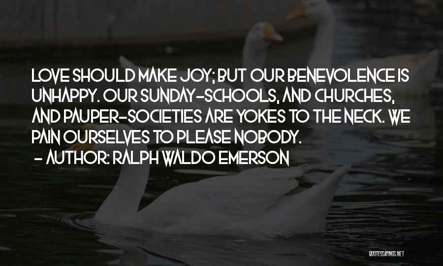 Sunday School Quotes By Ralph Waldo Emerson