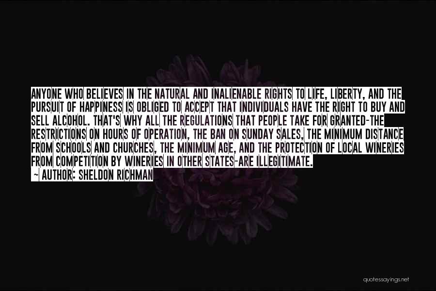 Sunday School Quotes By Sheldon Richman