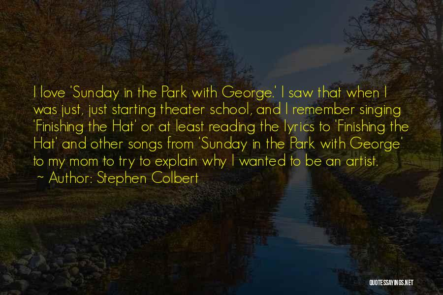 Sunday School Quotes By Stephen Colbert