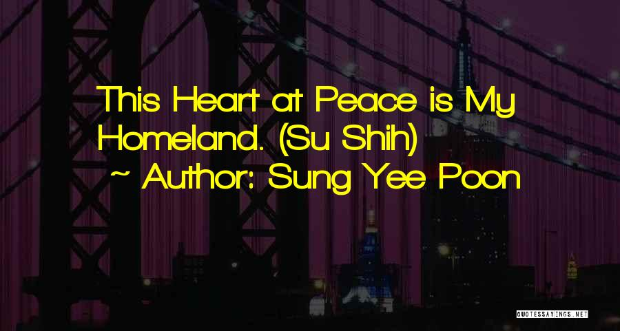 Sung Yee Poon Quotes 1465228