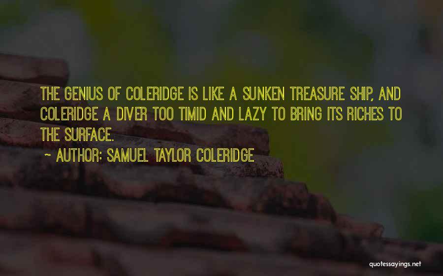 Sunken Ship Quotes By Samuel Taylor Coleridge