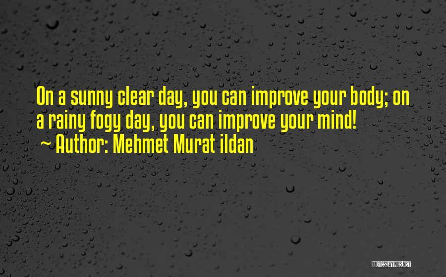 Sunny Rainy Day Quotes By Mehmet Murat Ildan