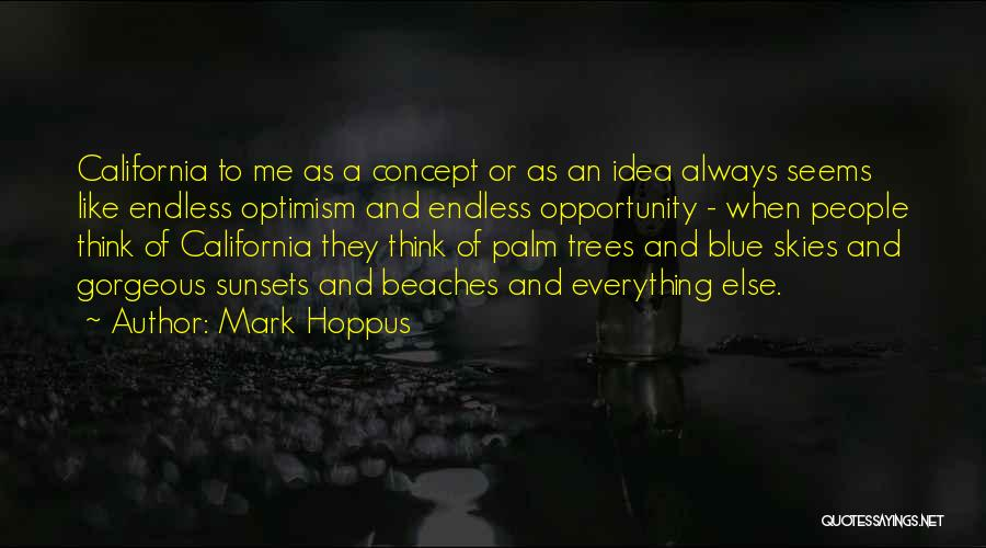 Sunset On The Beach Quotes By Mark Hoppus