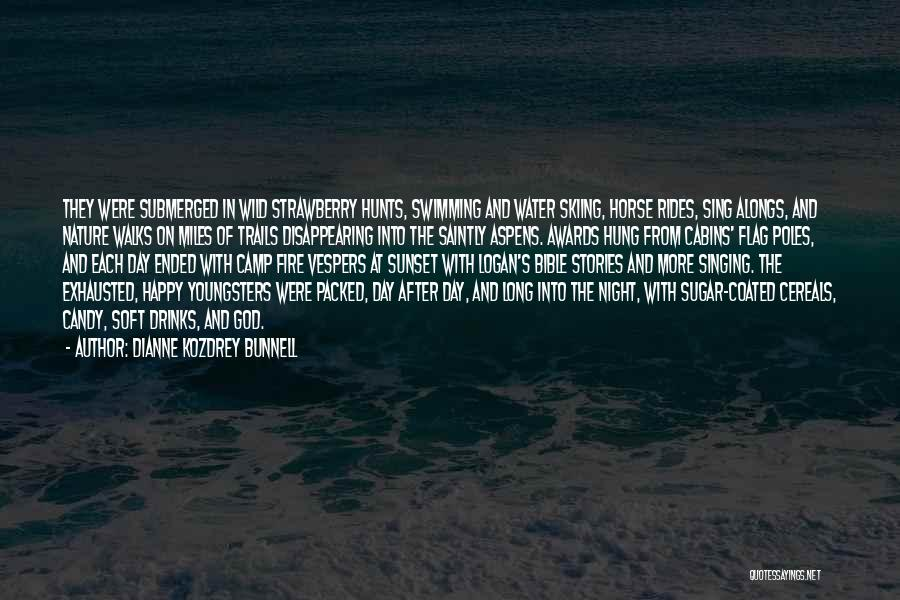 Sunset Over Water Quotes By Dianne Kozdrey Bunnell