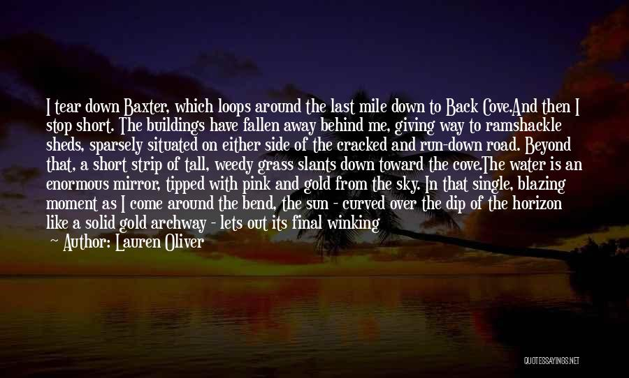 Sunset Over Water Quotes By Lauren Oliver