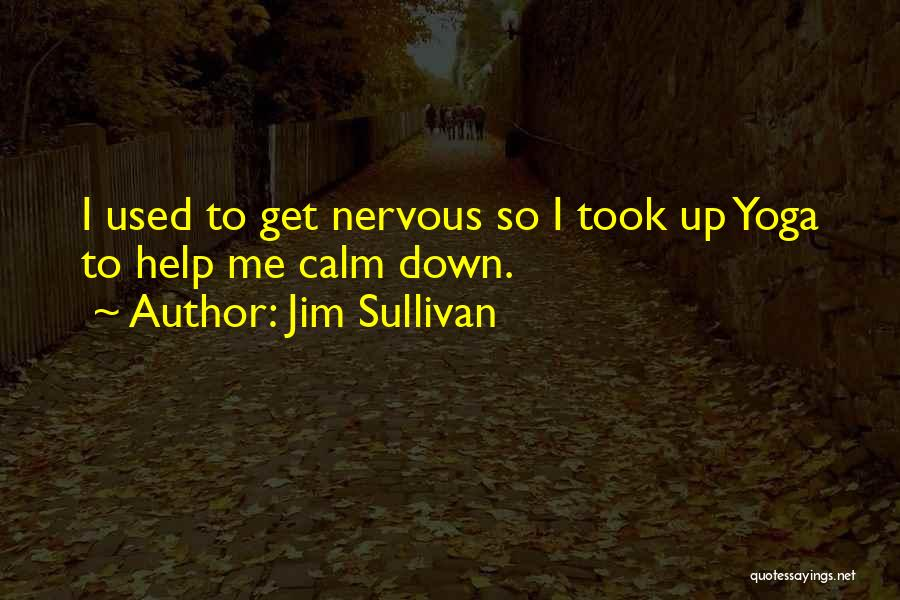 Sup Yoga Quotes By Jim Sullivan