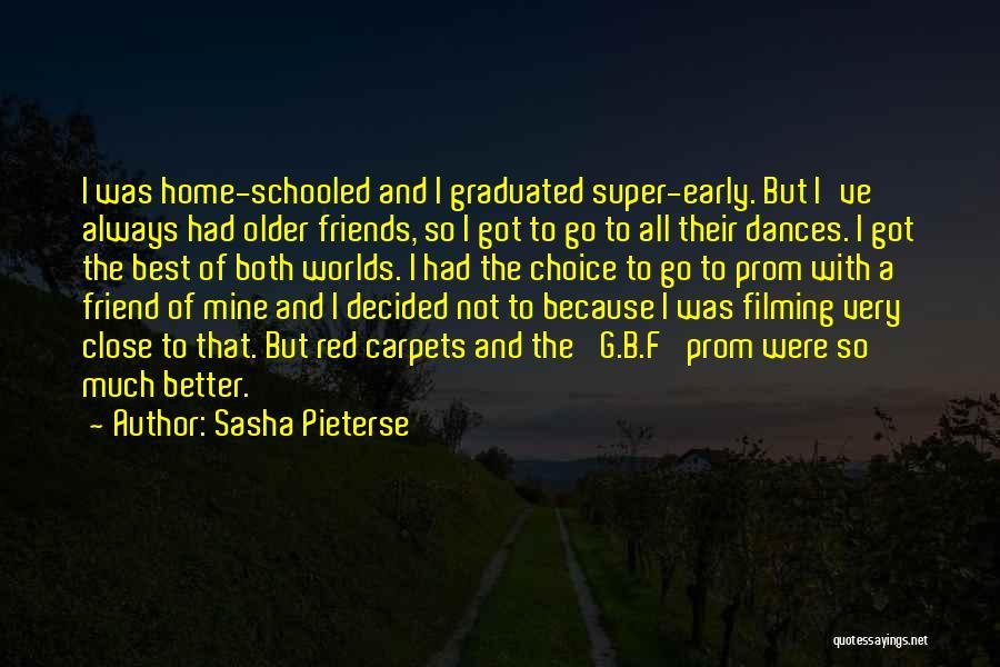 Super Best Quotes By Sasha Pieterse