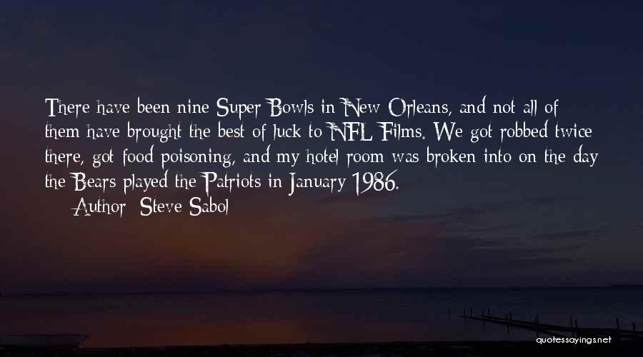 Super Best Quotes By Steve Sabol