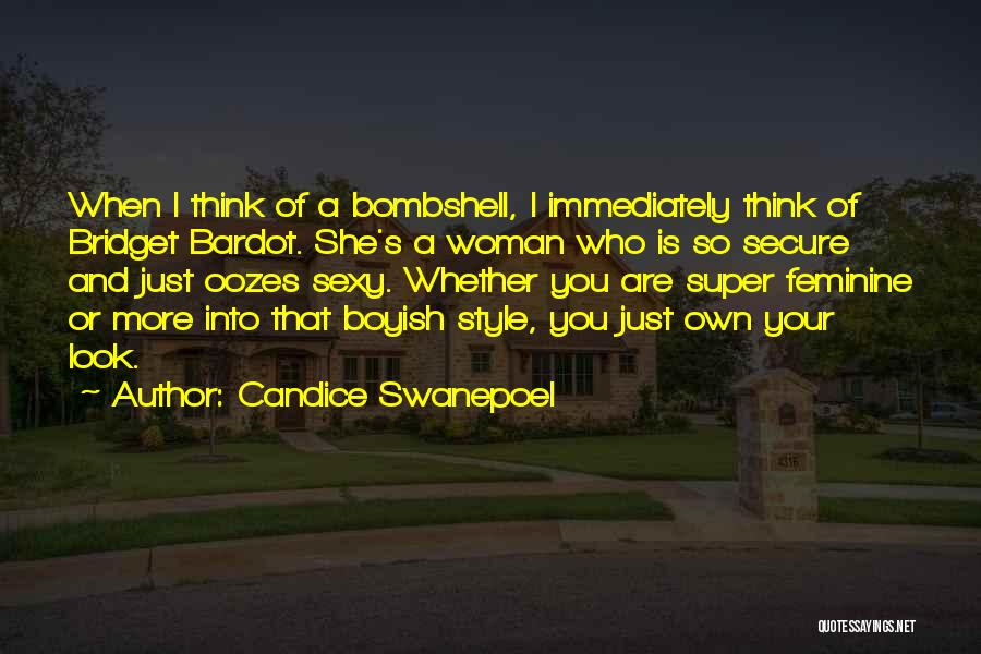 Super Thinking Quotes By Candice Swanepoel