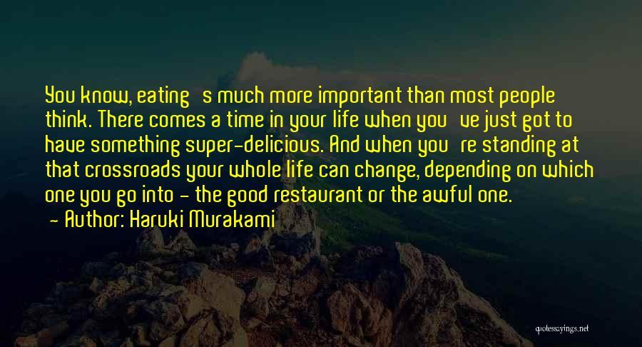 Super Thinking Quotes By Haruki Murakami