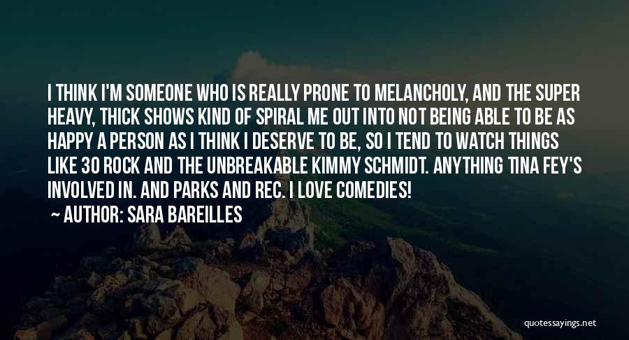 Super Thinking Quotes By Sara Bareilles