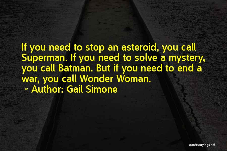 Superman Wonder Woman Quotes By Gail Simone
