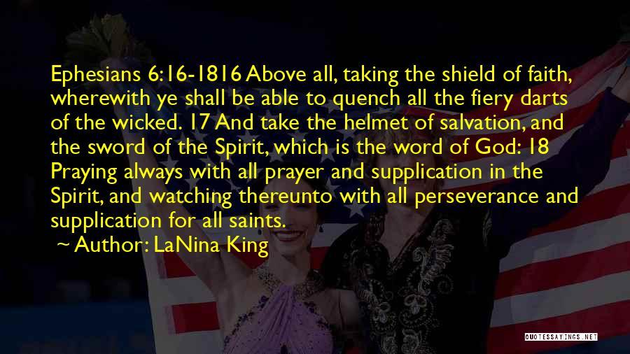 Supplication Prayer Quotes By LaNina King
