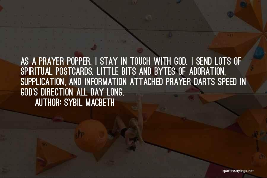 Supplication Prayer Quotes By Sybil MacBeth