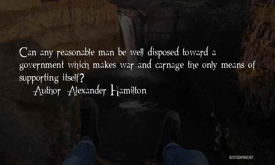 Supporting Quotes By Alexander Hamilton