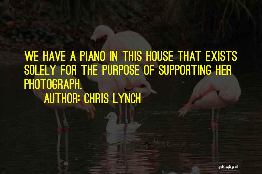 Supporting Quotes By Chris Lynch