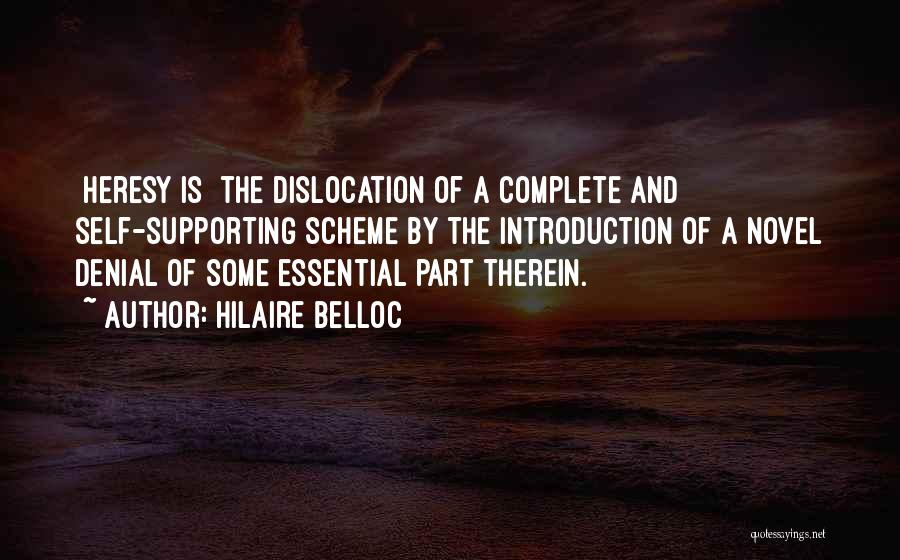 Supporting Quotes By Hilaire Belloc