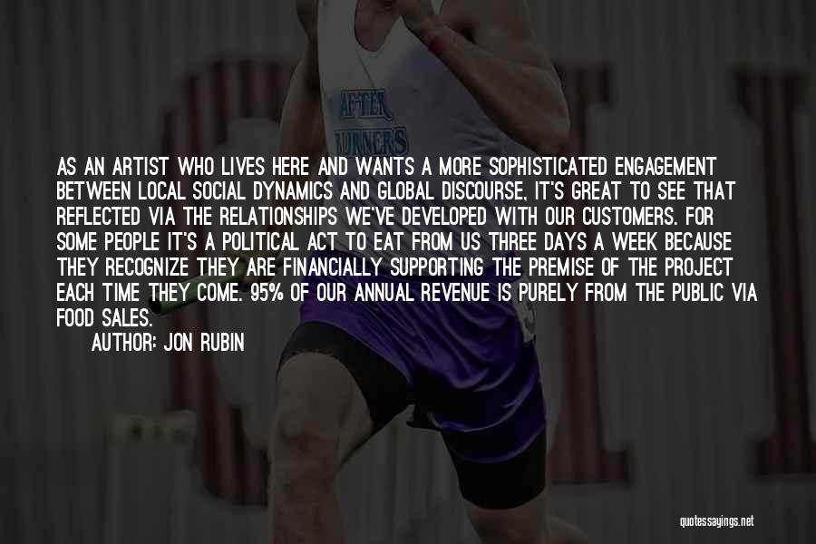 Supporting Quotes By Jon Rubin