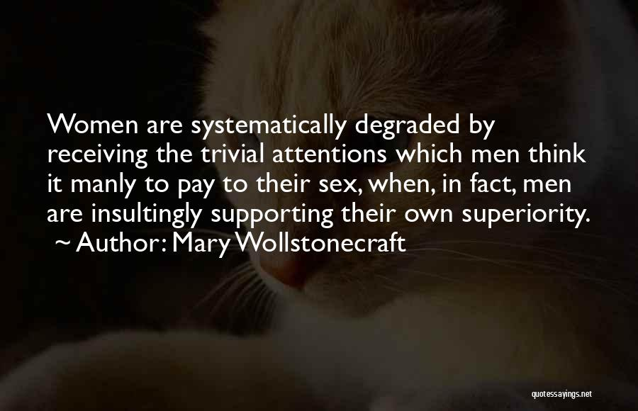 Supporting Quotes By Mary Wollstonecraft
