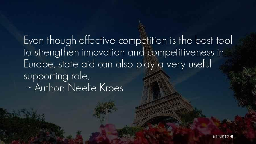 Supporting Quotes By Neelie Kroes