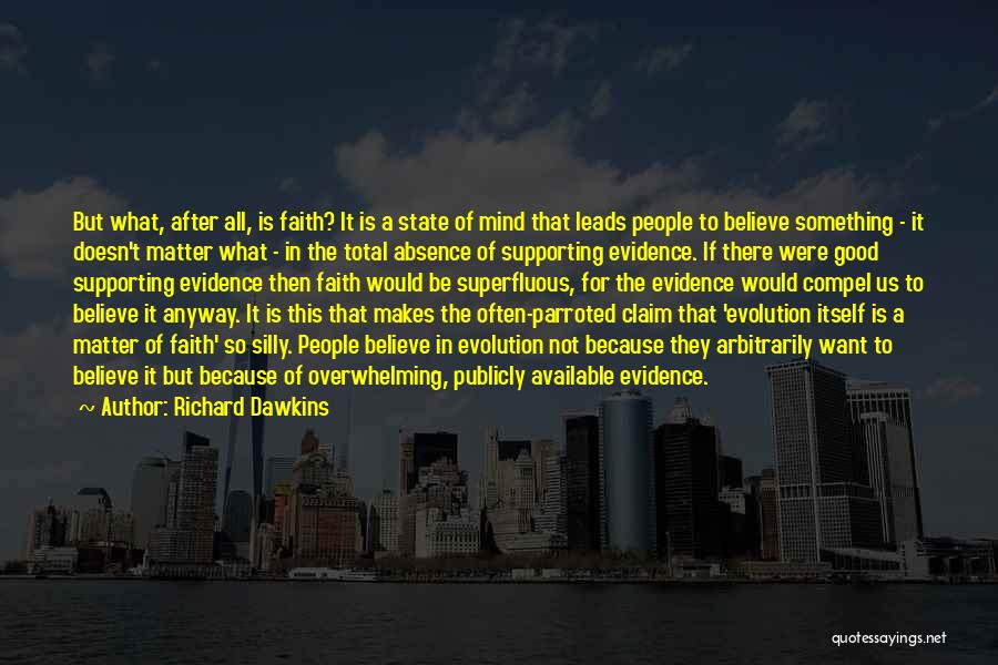 Supporting Quotes By Richard Dawkins