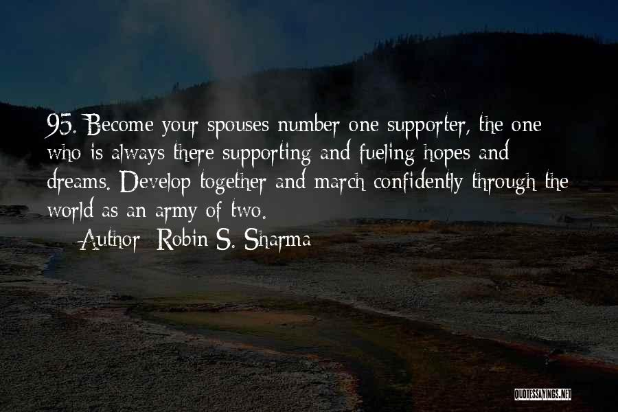 Supporting Quotes By Robin S. Sharma