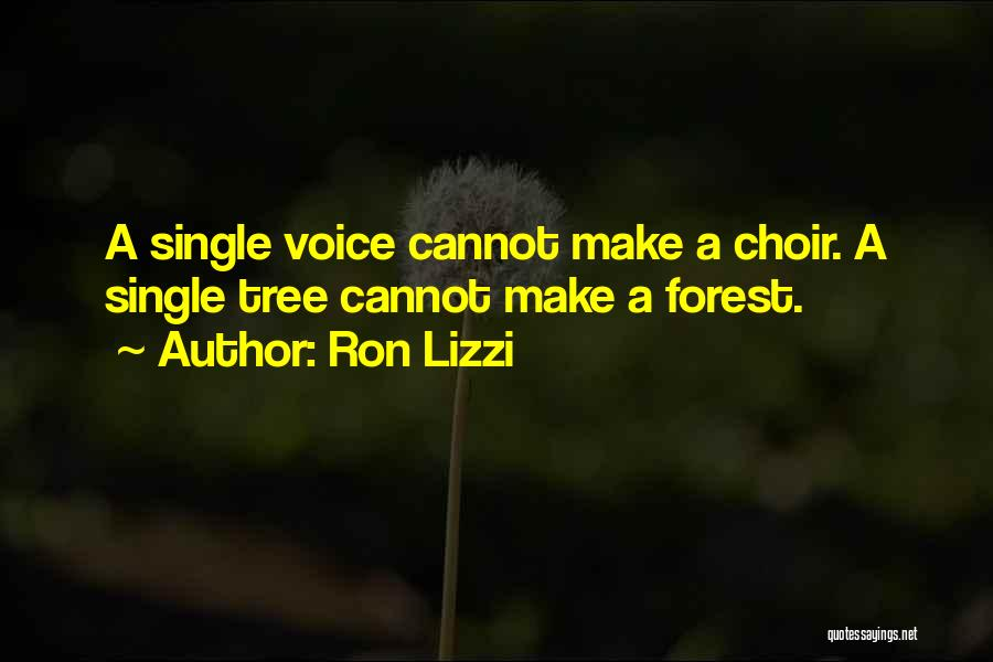 Supporting Quotes By Ron Lizzi