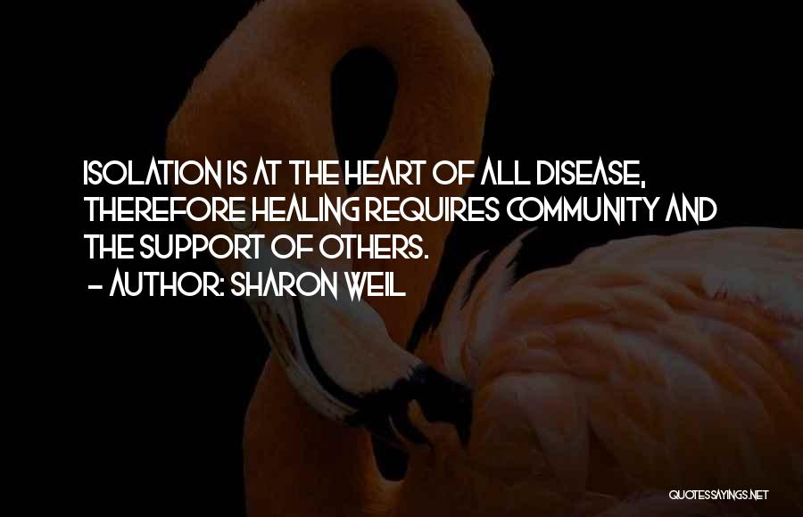 Supporting Quotes By Sharon Weil