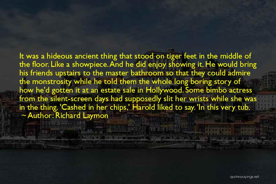 Supposedly Best Friends Quotes By Richard Laymon