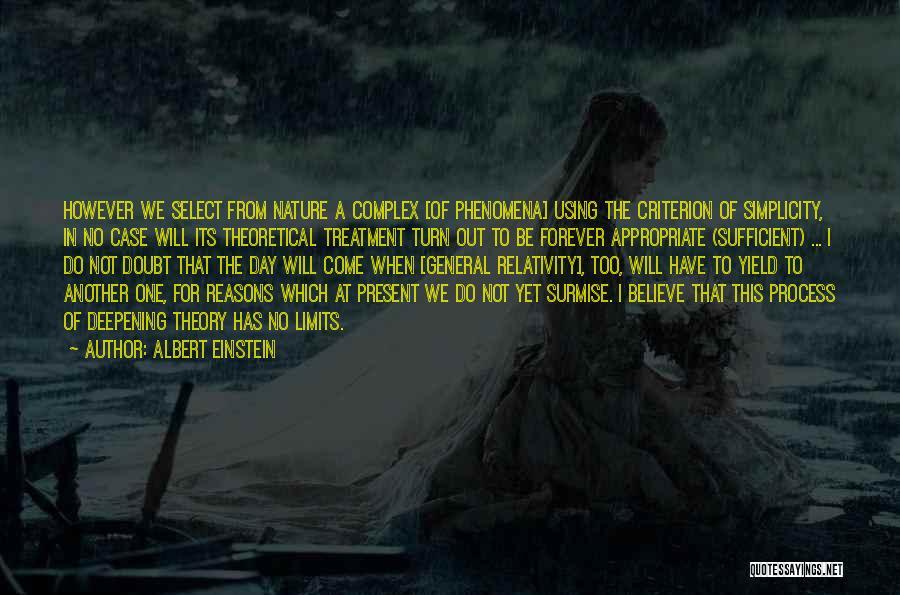Surmise Quotes By Albert Einstein