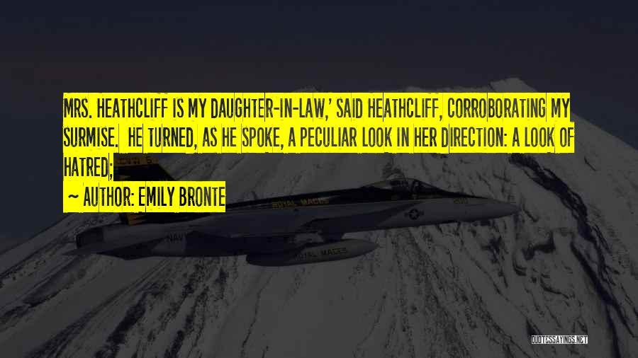 Surmise Quotes By Emily Bronte