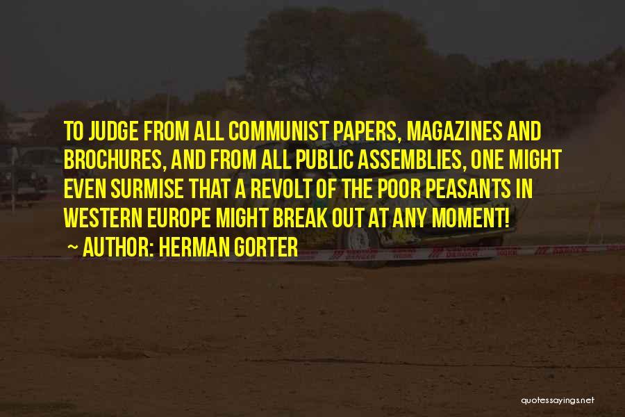 Surmise Quotes By Herman Gorter