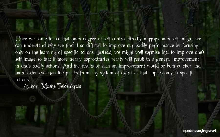 Surmise Quotes By Moshe Feldenkrais