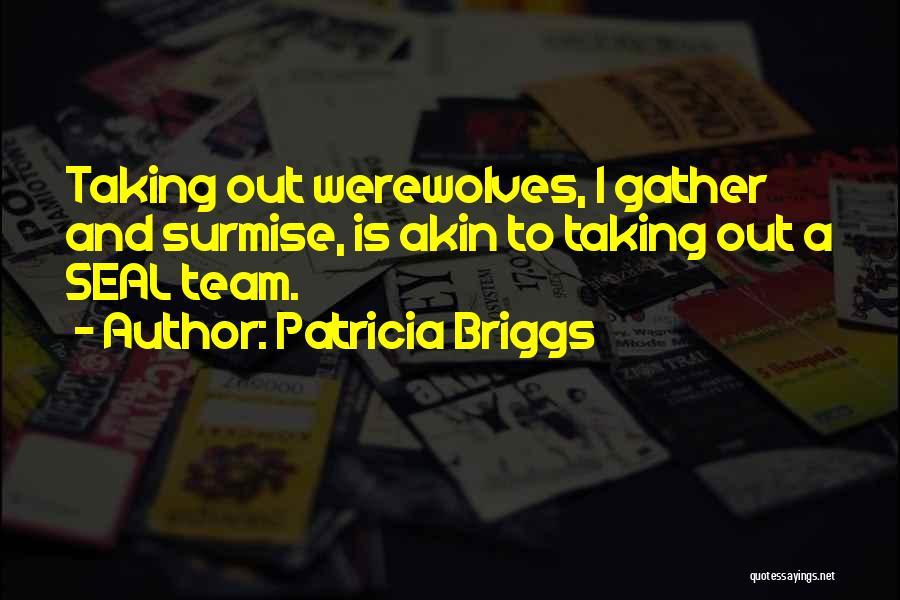 Surmise Quotes By Patricia Briggs