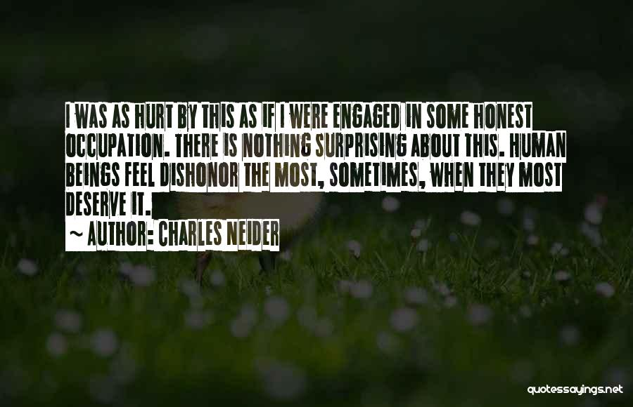 Surprising Yourself Quotes By Charles Neider