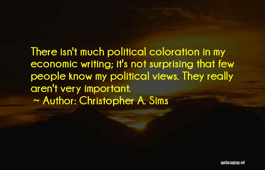 Surprising Yourself Quotes By Christopher A. Sims