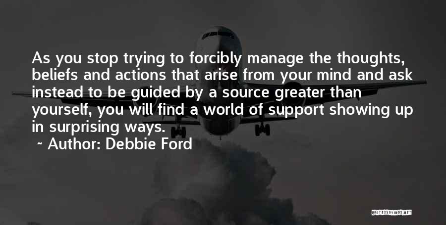 Surprising Yourself Quotes By Debbie Ford