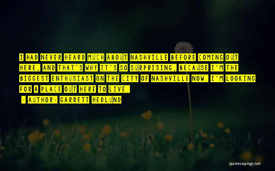 Surprising Yourself Quotes By Garrett Hedlund