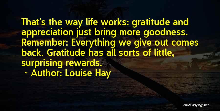 Surprising Yourself Quotes By Louise Hay