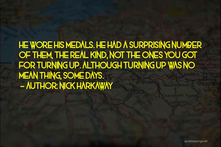 Surprising Yourself Quotes By Nick Harkaway
