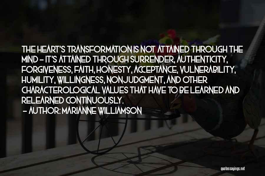 Surrender And Acceptance Quotes By Marianne Williamson
